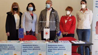 [VIDEO] Općini Viškovo i Opatijskom Crvenom križu bespovratna EU sredstva za projekt 'Dostojanstvena starost u vlastitom domu – socijalne usluge Urbane aglomeracije Rijeka'