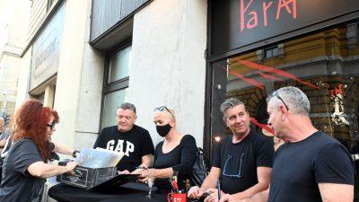[VIDEO] Održano druženje s članovima Parafa uz promotivnu prodaju vinilnih izdanja albuma 'A dan je tako lijepo počeo' i 'Zastave'