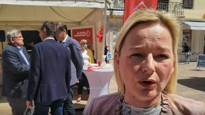 [VIDEO] SDP-ova kandidatkinja za zamjenicu gradonačelnika Sandra Krpan: Mladi i obrazovanje naš su prioritet
