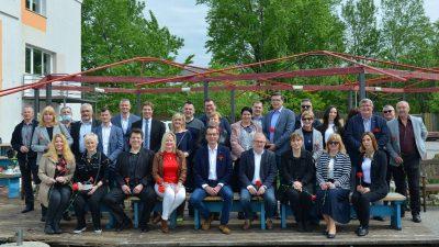 Koalicija SDP – HSU – IDS – HSS predstavila listu kandidata za gradsko vijeće na praznik rada