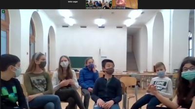 Učenici OŠ Dolac održali online sat Građanskog odgoja s gradonačelnikom Obersnelom