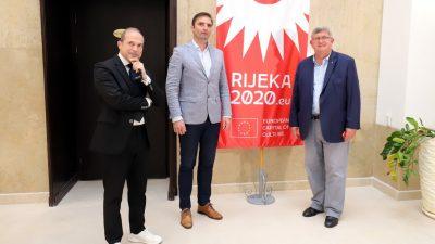 Delegacije gradova Nova Gorica i Gorizia koji nose titulu EPK 2025. godine u radnom posjetu Rijeci