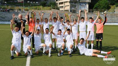 Bijelima naslov prvaka: Mlađi pioniri Rijeke pobjedili vršnjake iz 'Istre 1961'