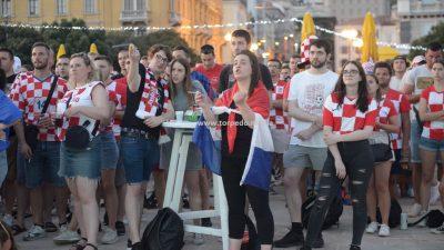 [FOTO/VIDEO] Hrvatska upisala pobjedu protiv Škotske, veća navijačka euforija je izostala ovog puta je izostala