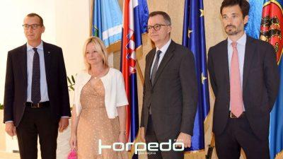 Prijam za talijanskog veleposlanika Pierfrancesca Sacca