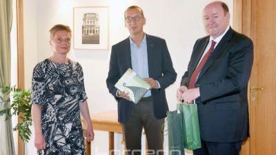 Održan prijam za veleposlanika Irske Nj.E. Ruaidhrija Marka Dowlinga