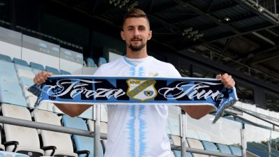 [FOTO/VIDEO] Anton Krešić novi je igrač HNK Rijeka
