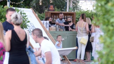 [FOTO/VIDEO] U parku ispred UP Juraj Šporer otvoren Gin&Wine Garden by Hedonist