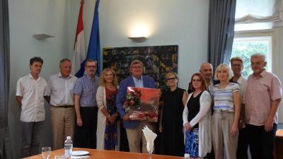 Na Rektoratu održan prijam za Vojka Obersnela