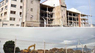 """Rijeka ima novu vizuru: Srušen je kompleks skladišta poznat kao """"sedmica"""""""