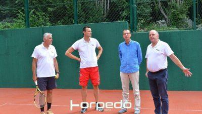Obnovljen teniski teren u sklopu Sportsko-rekreacijskog centra Mlaka