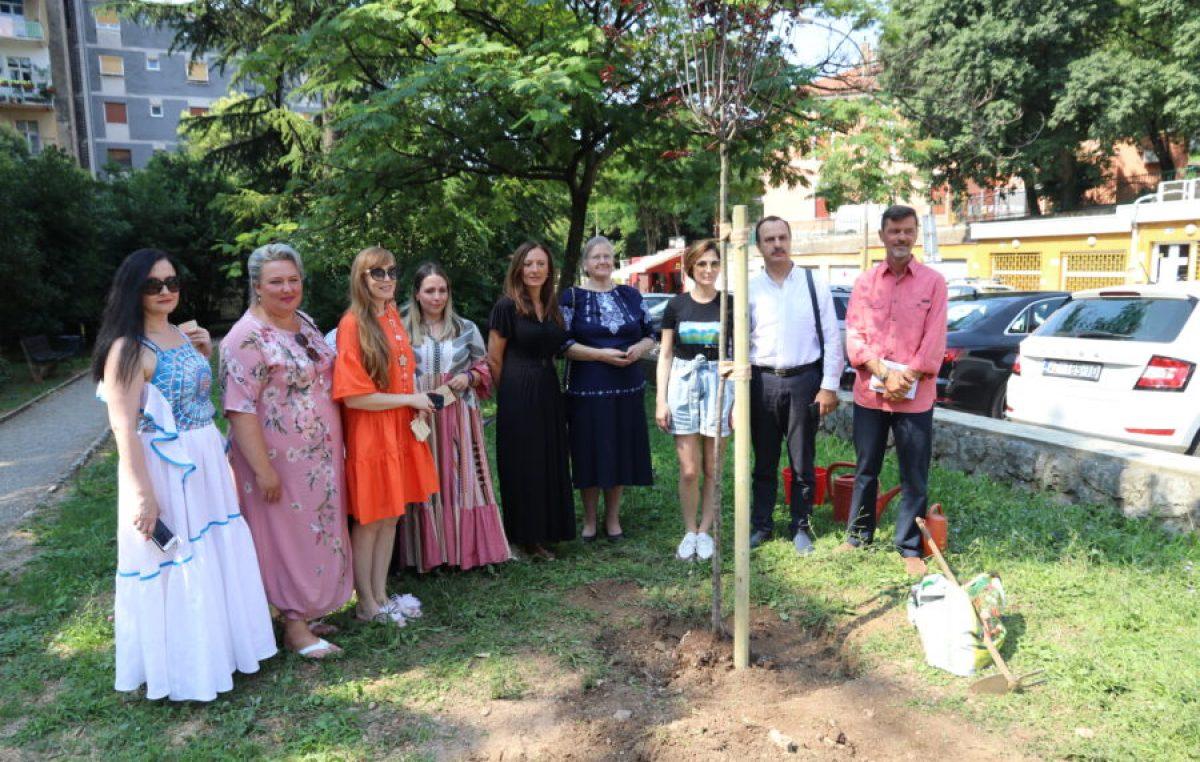 Ukrajinska delegacija posadila stabla u znak prijateljstva Hrvatske i Ukrajine