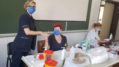 Nastavljeno cijepljenje pacijenata alergičara
