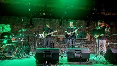 [U OKU KAMERE] Dino Ivelja Quartet oduševio publiku na Trsatskoj gradini