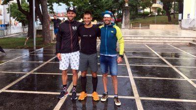 [FOTO] Drenova trail okupio više od 60 trkača: pobjednik Pavle Kruljac, drugi je bio Dino Vidmar, a treći David Marot