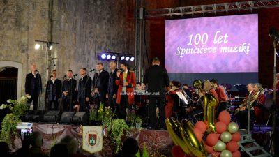 [VIDEO/FOTO] Svečanim koncertom na Crekvini Spinčićeva muzika obilježila stotu obljetnicu