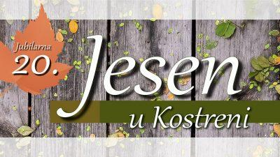 Jubilarna 20. Jesen u Kostreni