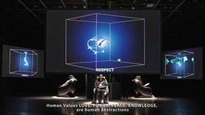 "Otvorenje izložbe ""Glowing Globe: Artificial Art Alienated"" u Kortilu"