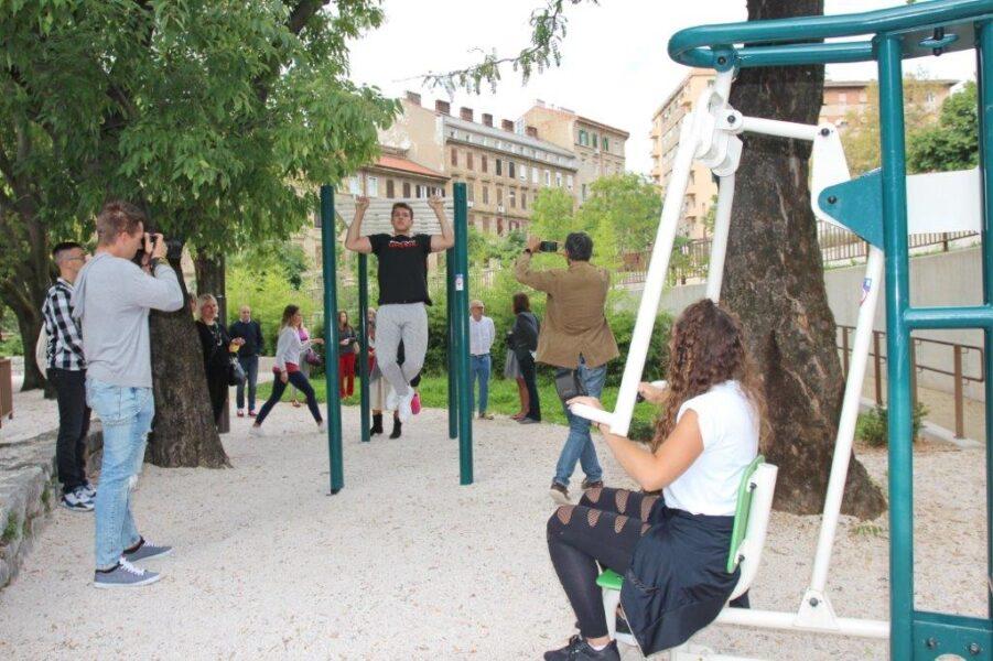 predstavljen novi portal za mlade strit fitness 2