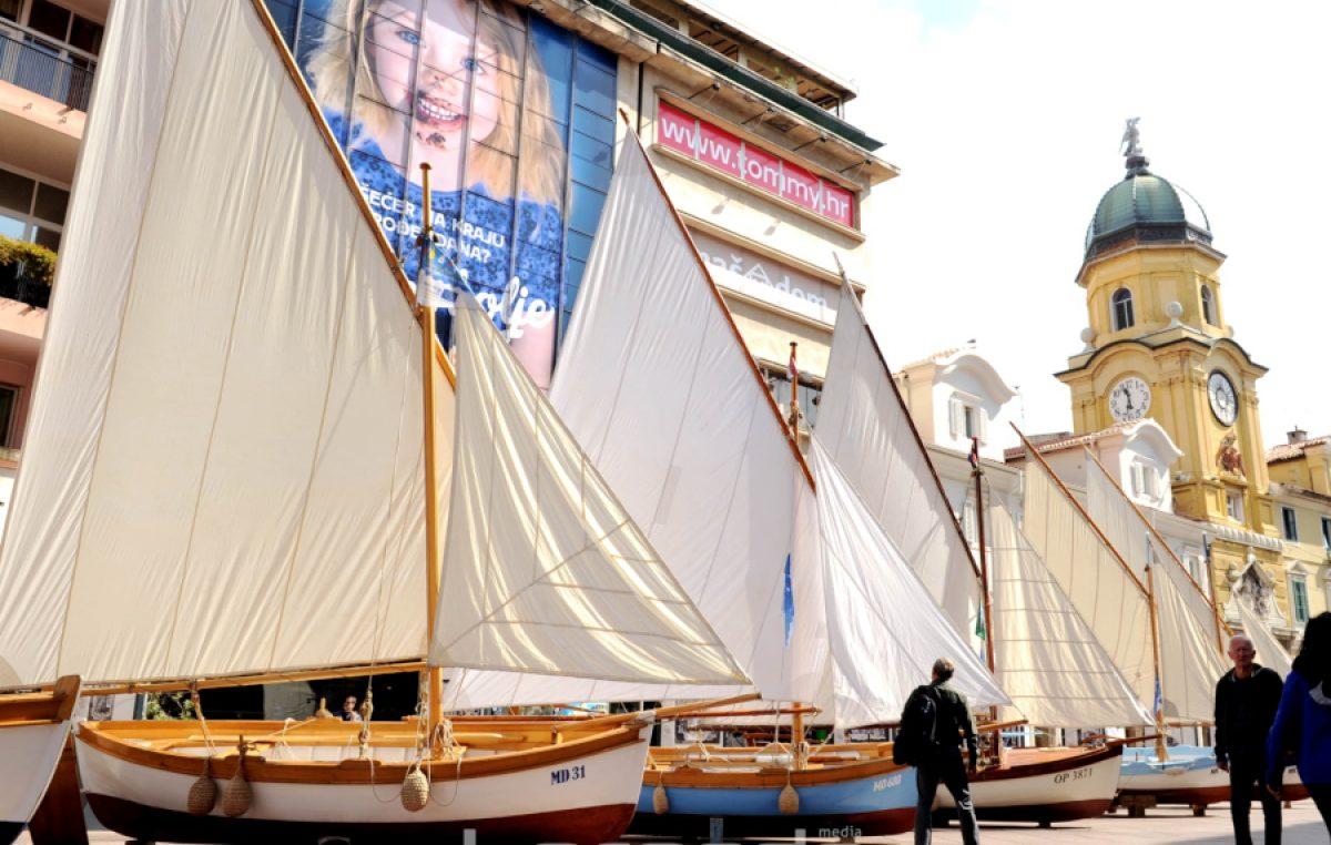 [FOTO/VIDEO] Festival Fiumare: Rijeka u znaku mora i tradicijski barki