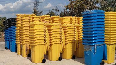 U Viškovu počela podjela spremnika za reciklabilne vrste otpada