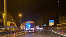 [VIDEO] Vozi se usporeno – Prometna nesreća na autocesti A7 u tunelu Škurinje I