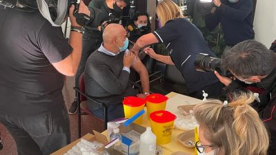 Počelo cijepljenje djelatnika KBC-a trećom dozom