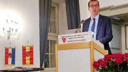 Gradonačelnik Filipović na svečanom obilježavanju prijateljske suradnje Rijeke i Karlshruea