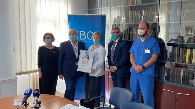"""Vrijedno europsko priznanje """"Golden Award"""" Klinici za neurologiju KBC-a Rijeka"""