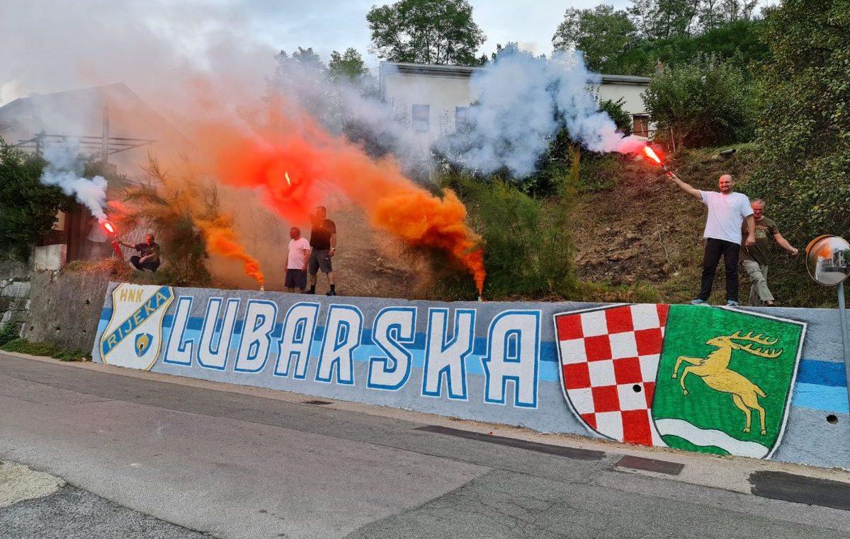 Oslikan zid u Lubarskoj: Ljubav prema klubu, našem kraju i domovini