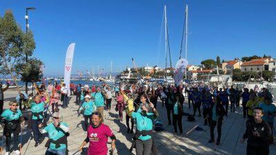 Preko stotinu hodača iz Hrvatske na Festivalu nordijskog hodanja i pješačenja u Malinskoj