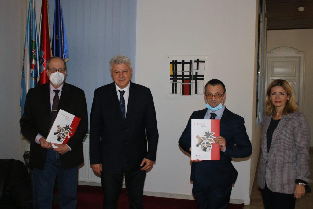 Župan Komadina primio pjesnika Sabahudina Budimliju