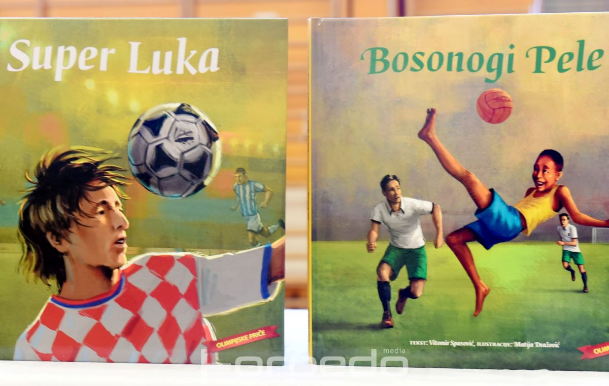 [FOTO] Predstavljena nova izdanja knjiga Sportske lektire