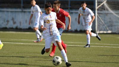 Prva liga NS Rijeka – stariji pioniri: Rijeka pobijedila Pomorac, hat-trick Roka Lerge