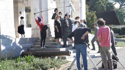 """[U OKU KAMERE] Guvernerova palača kao filmski set: snimanje filma """"Fiume o morte"""""""