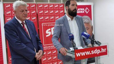 [VIDEO] Komadina: Više se neću kandidirati za predsjednika SDP-a županije i dao punu podršku Vojku Brautu